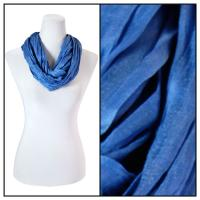 Infinity Scarves - Cotton/Silk Blend 100 - Denim Violet
