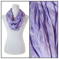 Infinity Scarves - Cotton/Silk Blend 100 - Lilac