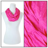Infinity Scarves - Cotton/Silk Blend 100 - Hot Pink