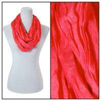 Infinity Scarves - Cotton/Silk Blend 100 - Bright Red
