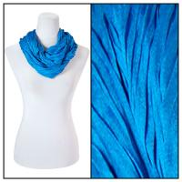 Infinity Scarves - Cotton/Silk Blend 100 - Blue