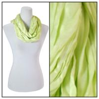 Infinity Scarves - Cotton/Silk Blend 100 - Lime