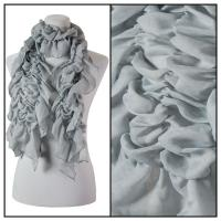 Scarves - Bohemian Solid 3171 - Grey