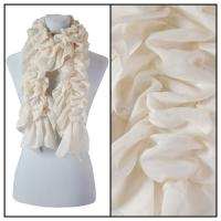 Scarves - Bohemian Solid 3171 - Off White
