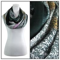 Infinity Scarves - Subtle Jazz 684 - Black