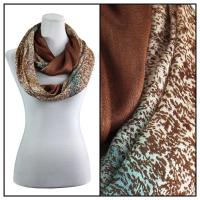 Infinity Scarves - Subtle Jazz 684 - Brown