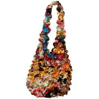 Carteras de Popcorn de lujo - Abstract Paint Splatter - Gold- Gold