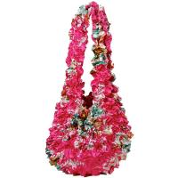 Popcorn Bags - Mini Bouquet on Pink- Hot Pink