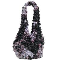 Carteras de Popcorn de lujo - Abstract Floral Purple-Rose - Maroon