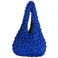 Carteras de Popcorn de lujo - Royal - Abstract Zebra Gold-Blue