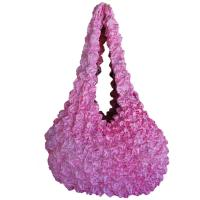 Carteras de Popcorn de lujo - Baby Pink - Abstract Pink-Red