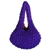 Popcorn Bags - Purple - Red