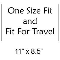 "Exhibición y comercialización - ""One Size Fit"" Sign - FREE Limit 2 per Order"