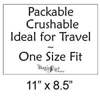 "Exhibición y comercialización - ""Packable Crushable"" Sign - FREE Limit 2 per Order"