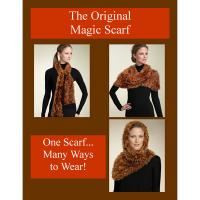 "Exhibición y comercialización - Magic Scarf Sign 8.5"" x 11"" (Free Limit 1 with Magic Scarf Order)"