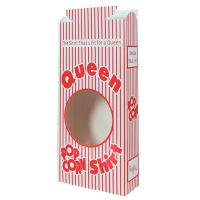Display and Merchandising - Queen Size Popcorn Boxes with Window
