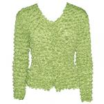 Gourmet Popcorn - Collarless Cardigan - Mint