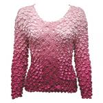 Coin Fishscale - Long Sleeve - Variegated Pink