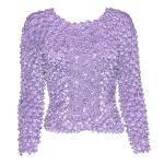 Coin Fishscale - Long Sleeve - Lilac