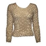 Coin Fishscale - Long Sleeve - Champagne