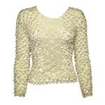 Coin Fishscale - Long Sleeve - Pearl