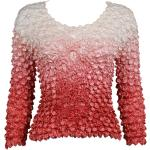 Coin Fishscale - Long Sleeve - Variegated Coral