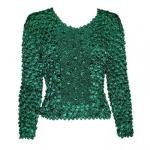 Coin Fishscale - Long Sleeve - Seagreen