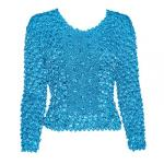 Coin Fishscale - Long Sleeve - Turquoise