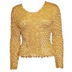 Coin Fishscale - Long Sleeve - Gold