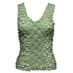 Coin Fishscale - Tank Top - Sage