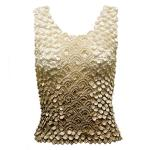 Coin Fishscale - Tank Top - Variegated Tan