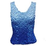 Coin Fishscale - Tank Top - Variegated Blue