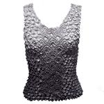 Coin Fishscale - Tank Top - Variegated Grey