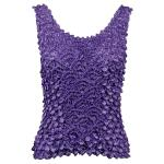 Coin Fishscale - Tank Top - Light Violet
