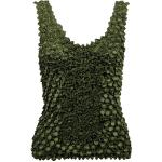 Coin Fishscale - Tank Top - Olive