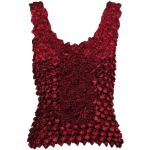 Coin Fishscale - Tank Top - Burgundy