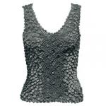 Coin Fishscale - Tank Top - Dark Grey