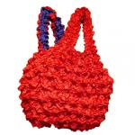 Red Hatters Selections - Double-Ply Popcorn Bag - Red-Purple