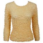 Silky Touch Popcorn - Three Quarter Sleeve - Butterscotch