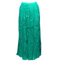 Skirts - Long Cotton Broomstick with Pocket - Solid Jade