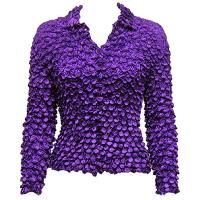 Coin - Cardigan - Royal Purple