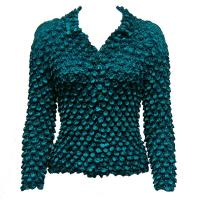 Coin - Cardigan - Teal Blue