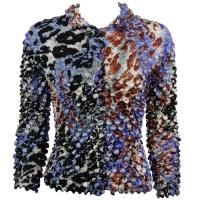 Coin - Cardigan - Giraffe Purple-Brown