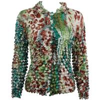 Coin - Cardigan - Giraffe Green-Brown
