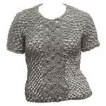 Queen - Coin Fishscale - Short Sleeve - Charcoal