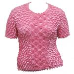 Queen - Coin Fishscale - Short Sleeve - Bubblegum