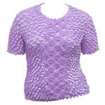 Queen - Coin Fishscale - Short Sleeve - Lilac