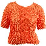 Queen - Coin Fishscale - Short Sleeve - Pumpkin