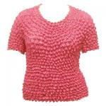 Silky Touch Popcorn - Queen Short Sleeve - Rose