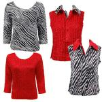 Sets - Reversible Vest / Two TQ Tops
